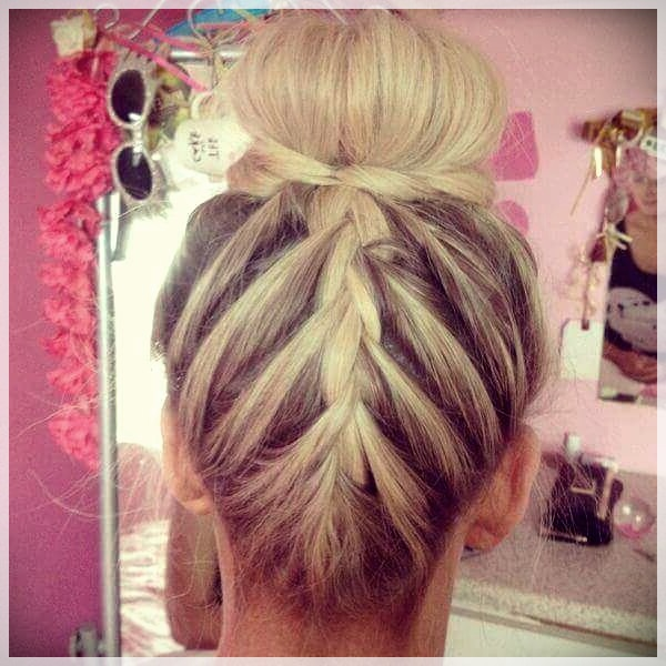 Updos 2019 fashion trends - updos 2019 19