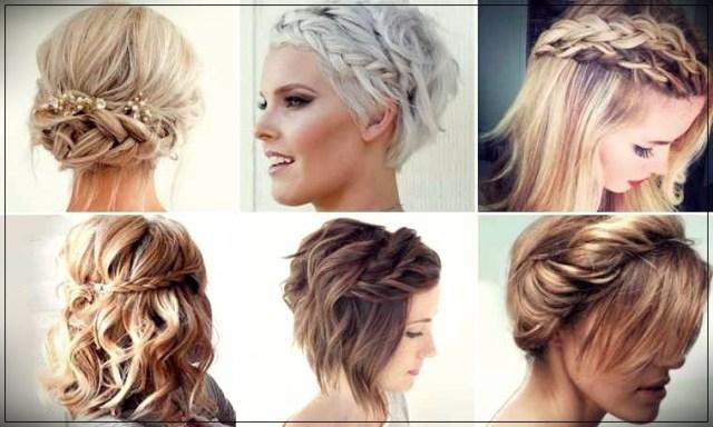 Short and medium hairstyles