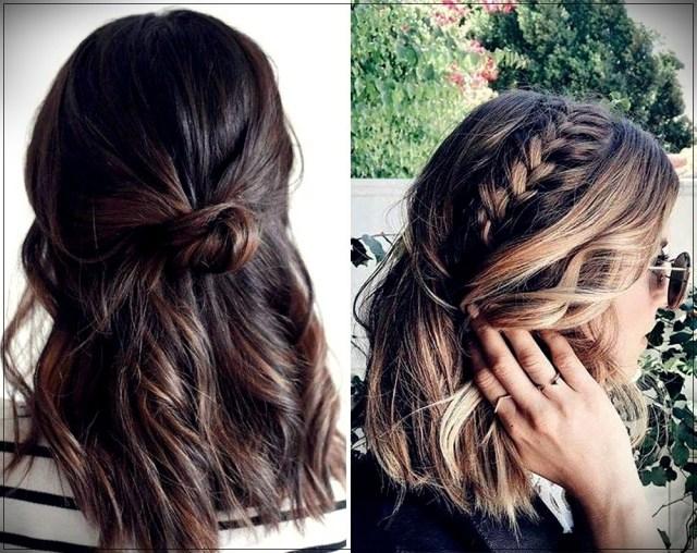 Short and medium hairstyles: beautiful ideas! - Short and medium hairstyles 12