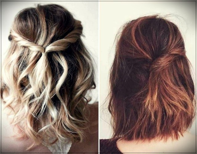 Short and medium hairstyles: beautiful ideas! - Short and medium hairstyles 14