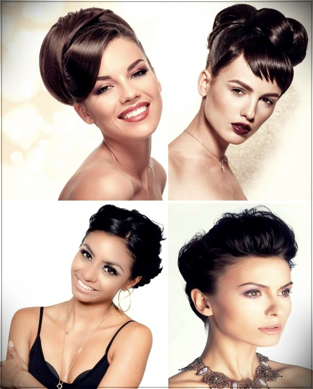 Short and medium hairstyles: beautiful ideas! - Short and medium hairstyles 15