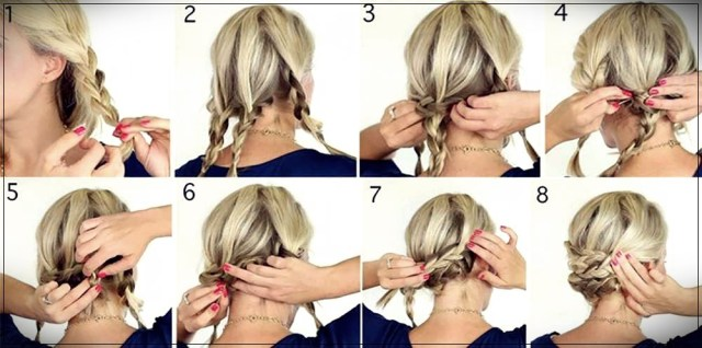 Short and medium hairstyles: beautiful ideas! - Short and medium hairstyles 16