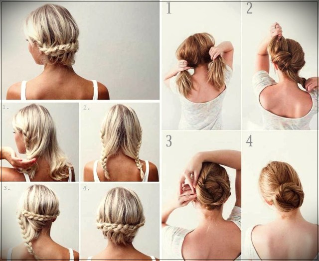 Short and medium hairstyles: beautiful ideas! - Short and medium hairstyles 23