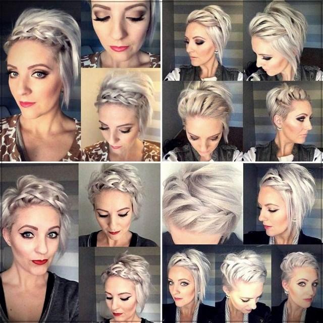 Short and medium hairstyles: beautiful ideas! - Short and medium hairstyles 27