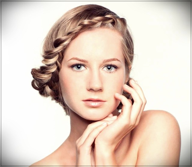 Short and medium hairstyles: beautiful ideas! - Short and medium hairstyles 30