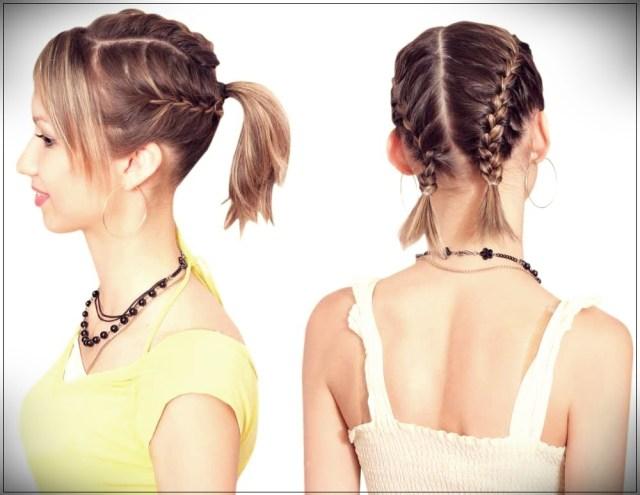 Short and medium hairstyles: beautiful ideas! - Short and medium hairstyles 31