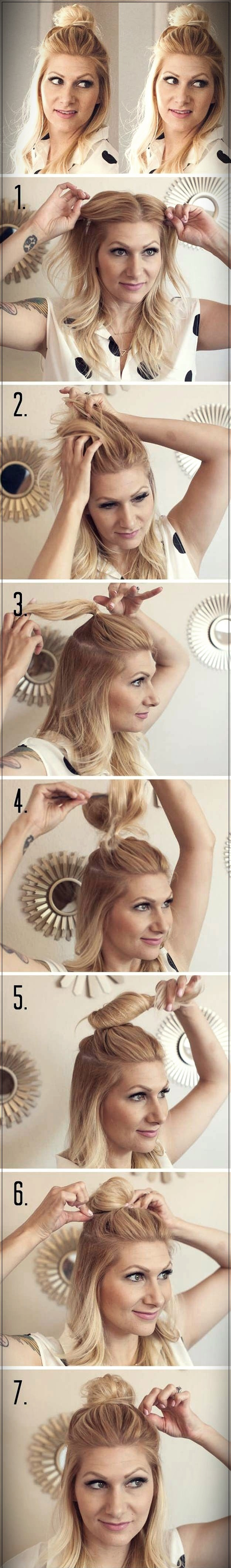 Easy Hairstyles 2019 step by step - easy hairstyles 2019 22