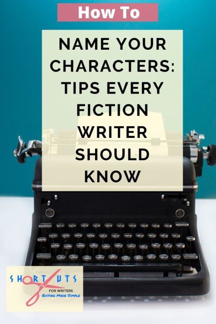 how to name characters