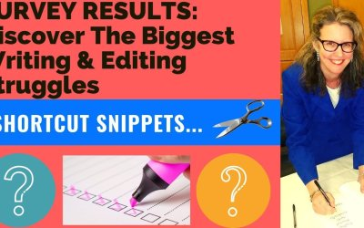 SURVEY RESULTS: Discover the Biggest Writing & Editing Struggles