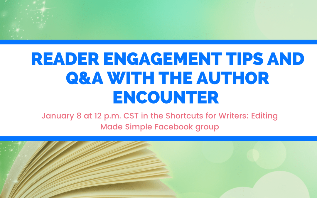 How Authors Can Engage With Readers: 3 Tips From The @AuthorEncounter
