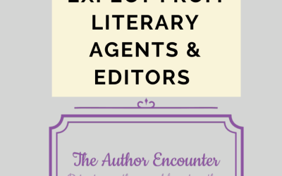 What To Expect From Literary Agents And Editors @AuthorEncounter