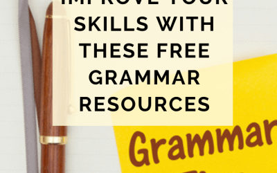 Improve Your Skills With These Free Grammar Resources