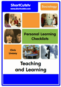 Personal Learning Checklist. Click to download pdf