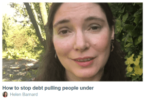 Helen Barnard on Debt