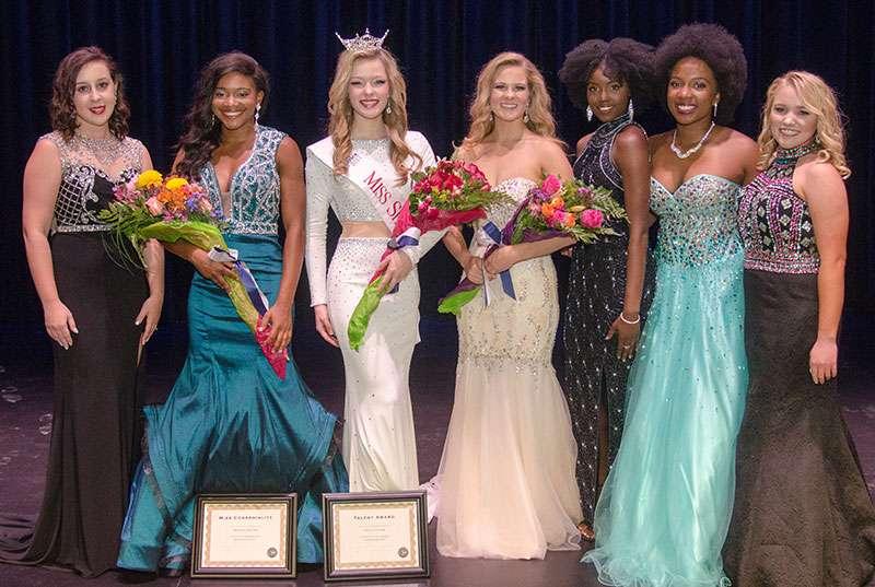 Miss Shorter 2017 contestants.