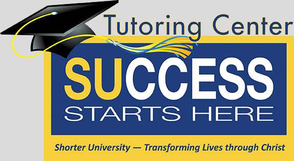 Success Starts Here / Tutoring Center with a graduation cap