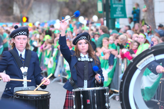 Worlds Shortest St. Patrick's Day Parade - Hot Springs, AR