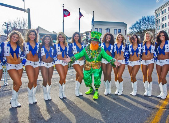 Dallas Cowboy Cheerleaders | Hot Springs National Park, AR