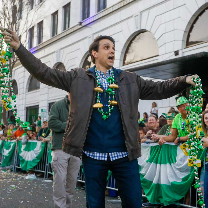 Ralph Macchio 2019 Shortest St. Pats Grand Marshall | Hot Springs, AR