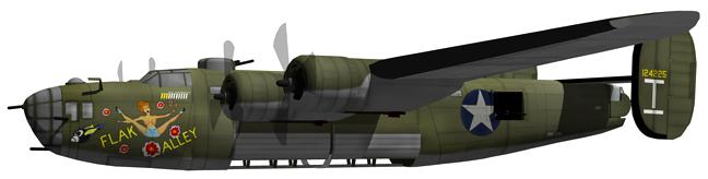 B24D Liberator Flak Alley Ploesti Raider