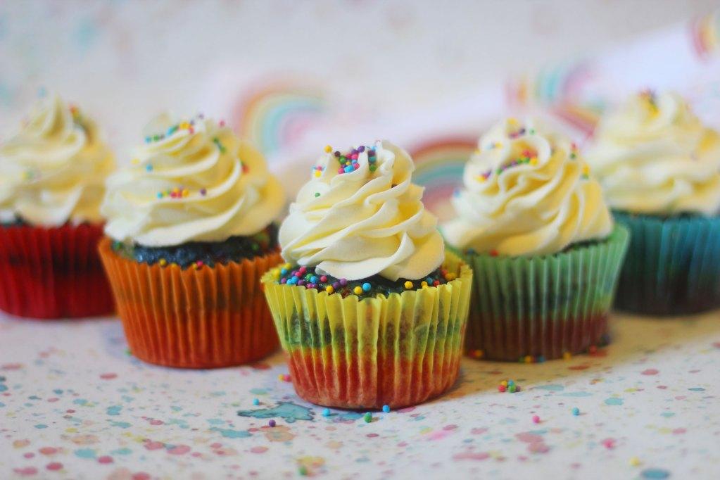 Rainbow Cupcakes Example 8