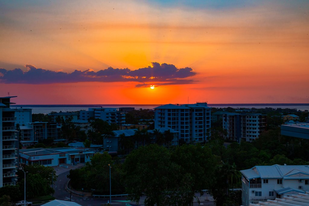 northern territory sunset in Darwin