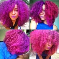 25 Colored Natural Hair Styles - Dyed Natural Hair Photo ...