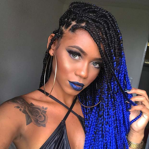 25 Best Black Braided Hairstyles to Copy in 2018  Beauty