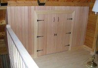 Short Doors & ... This Contemporary Laundry Room Is Fitted ...