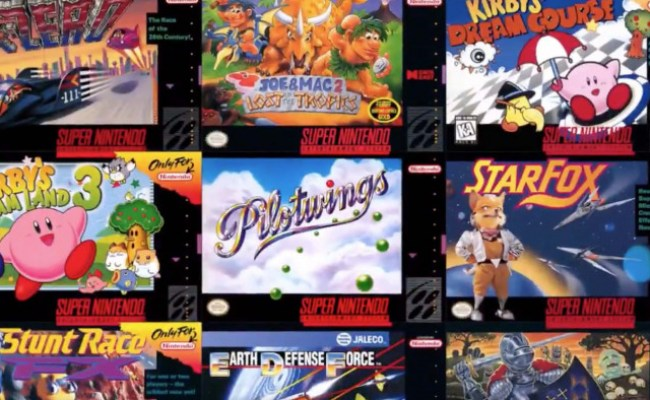 Nintendo Switch 20 New Snes Games Available Now