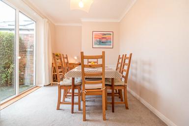 Light Filled Dining Room