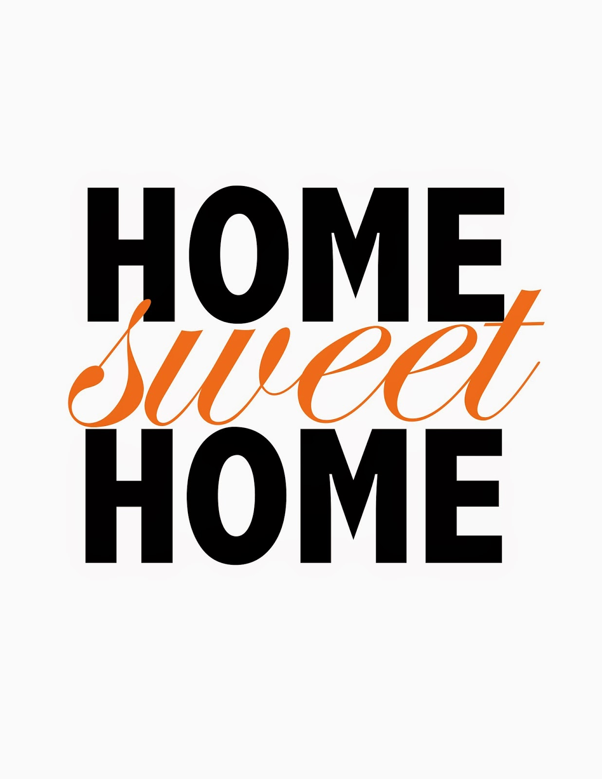 It's just a picture of Dramatic Home Sweet Home Printable