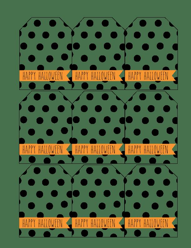 Halloween Gift Tags.Halloween Gift Tags Free Printable Short Stop Designs