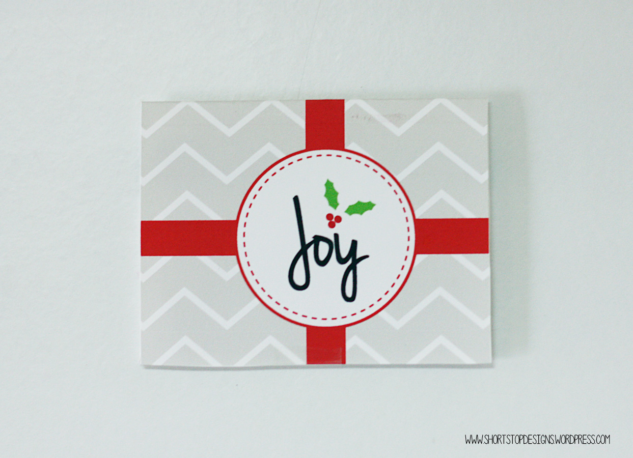 FREE Printable Christmas Gift Card Holders – Short Stop Designs