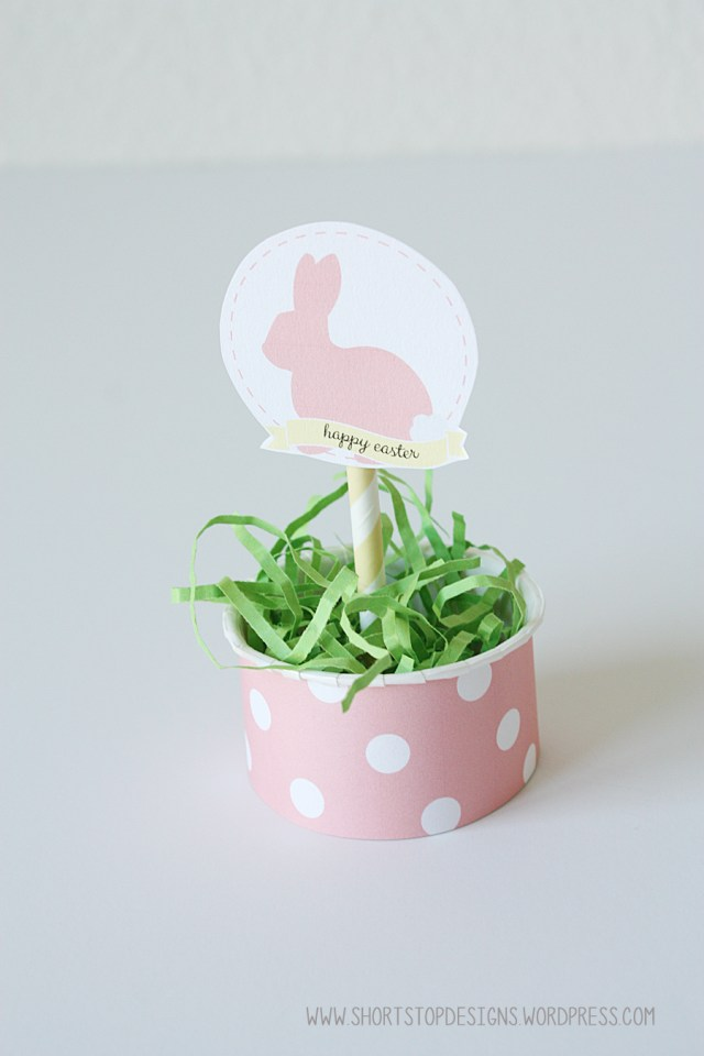 Easter Cupcake Topper 4