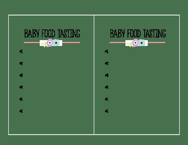 BABY-FOOD-TASTING
