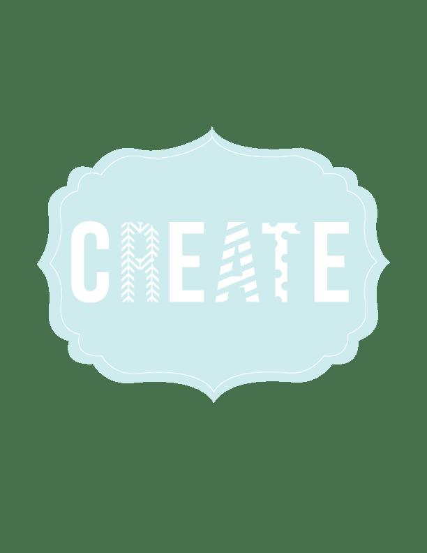 Create-Print-Blue