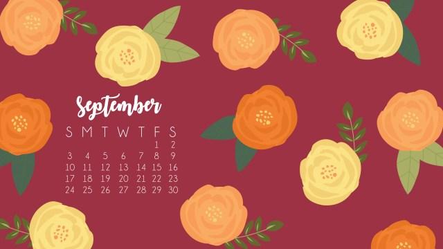 September Desktop 2017 Calendar