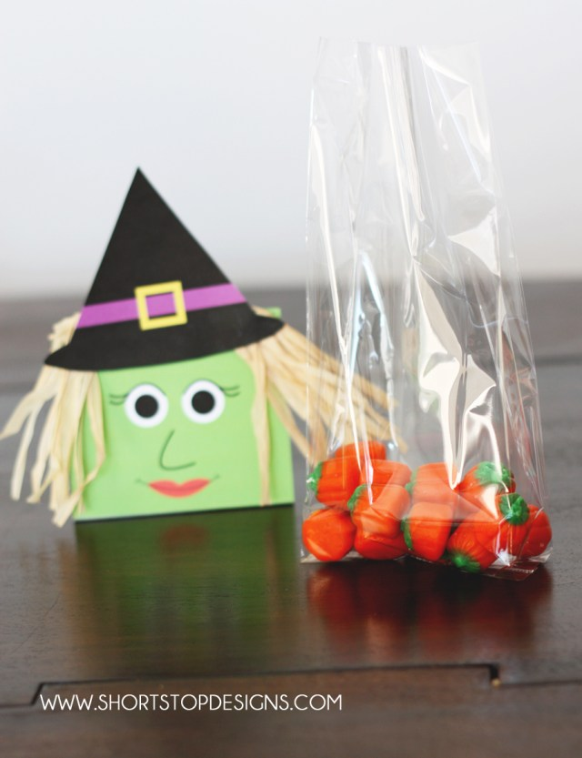 DIY Witch Halloween Treat Bag