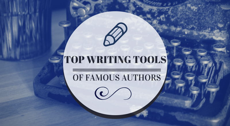 Infographic: Top Writing Tools of Famous Authors