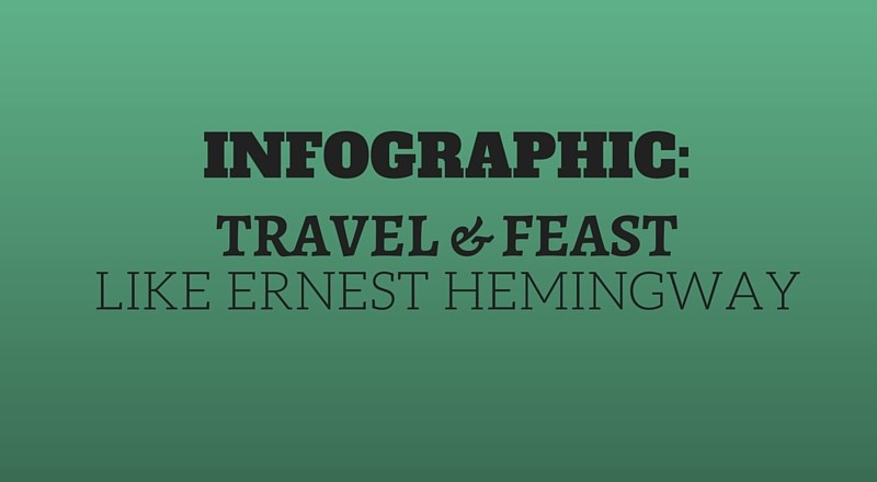 Travel and Feast Like Hemingway! [Infographic]