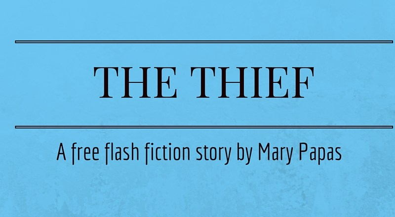 The Thief: A Flash Fiction Story by Mary Papas