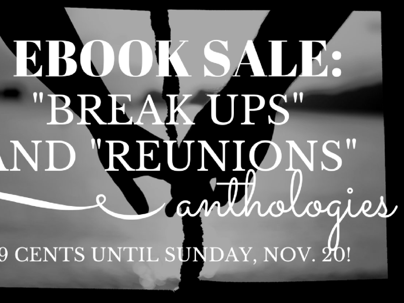 Ebook Sale: Grab Anthologies for 99 Cents Until Nov 20!