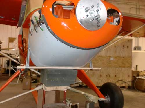 Engine, Cowling, and Nosebowl   Short Wing Super Cub
