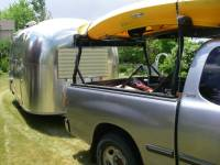 Stake Pocket Truck Rack For Carrying Kayaks 4