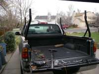 Stake Pocket Truck Rack For Carrying Kayaks