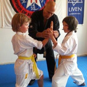 Karate og selvforsvar for børn i Århus