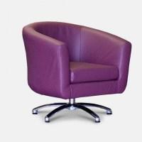 Swivel Barrel Chair Cool Purple Design Trendy Photos 61 ...