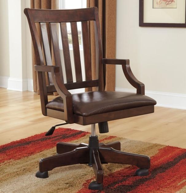 Wooden Swivel Desk Chair 2019  Chair Design