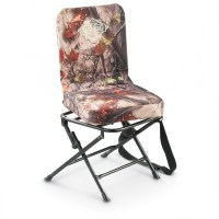 Camo Swivel Hunting Chair With Backrest Images 24   Chair ...
